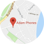 Adam Phones Location