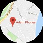 Adam Phones Location