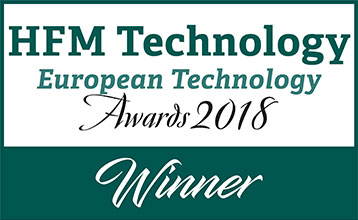 HFM Technology European Technology Awards 2018 Winner